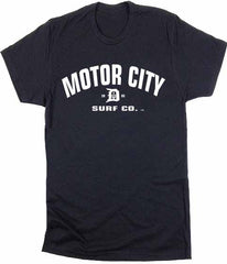 Motor City Surf Co. logo T-Shirt - Detroit Surf Co. - 2