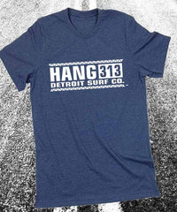 Hang 313 logo T-Shirt - Detroit Surf Co. - 2