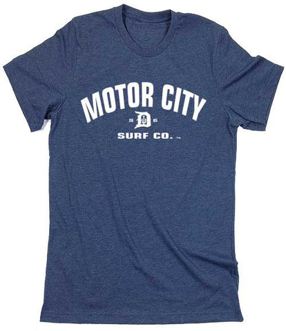 Motor City Surf Co. logo T-Shirt - Detroit Surf Co. - 1