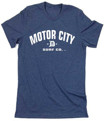 Motor City Surf Co. logo T-Shirt - Detroit Surf Co. - 3