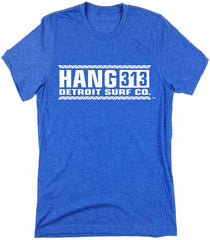 Hang 313 logo T-Shirt - Detroit Surf Co. - 3
