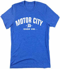 Motor City Surf Co. logo T-Shirt - Detroit Surf Co. - 4