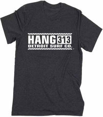 Hang 313 logo T-Shirt - Detroit Surf Co. - 4