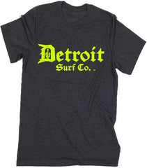 Detroit Surf Co. Hi-Vis logo T-Shirt - Detroit Surf Co. - 2