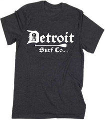 Detroit Surf Co. Paddle logo T-Shirt - Detroit Surf Co. - 3