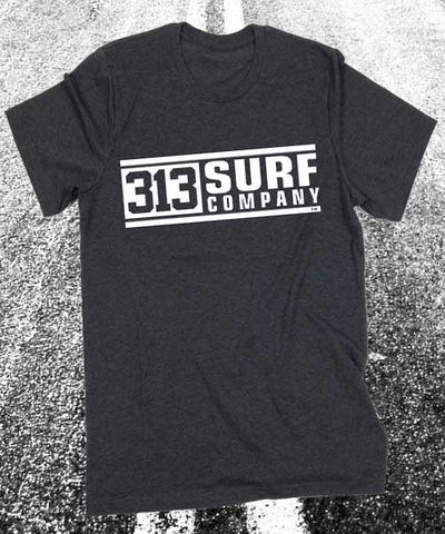 313 Surf Co. logo T-Shirt - Detroit Surf Co. - 1