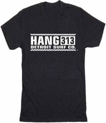 Hang 313 logo T-Shirt - Detroit Surf Co. - 5
