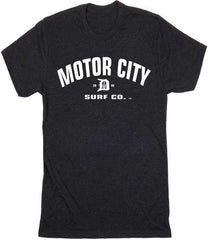 Motor City Surf Co. logo T-Shirt - Detroit Surf Co. - 5