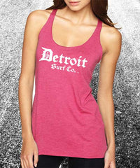 Ladies Classic Logo Tank - Detroit Surf Co. - 4