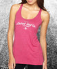 Tri-blend Surfwear logo Tank - Detroit Surf Co. - 1