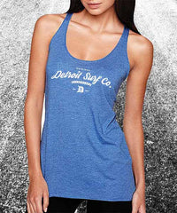 Tri-blend Surfwear logo Tank - Detroit Surf Co. - 4