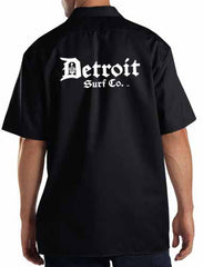 Embroidered Dickies Work Shirt - Detroit Surf Co. - 4
