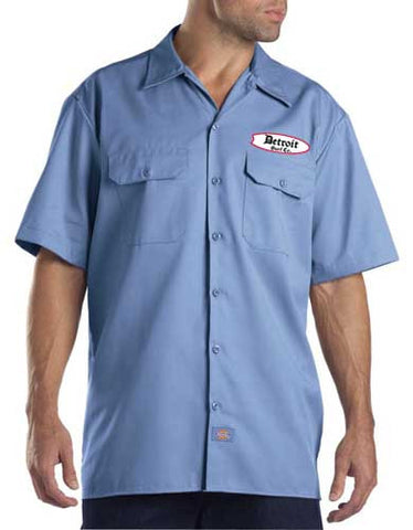 Embroidered Dickies Work Shirt - Detroit Surf Co. - 1