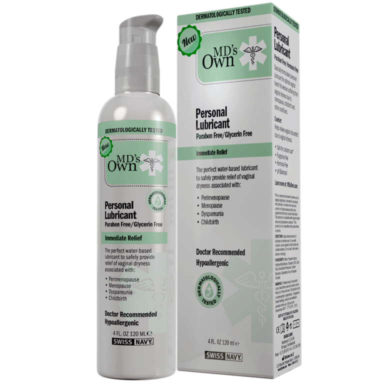 MD'S OWN Paraben & Glycerin Free Lubricant