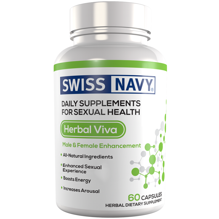 SNHV60 Swiss Navy Herbal Viva 60ct UPC 699439001865