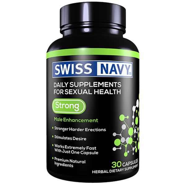 SNSTR30 Swiss Navy Strong 30ct UPC 699439001544
