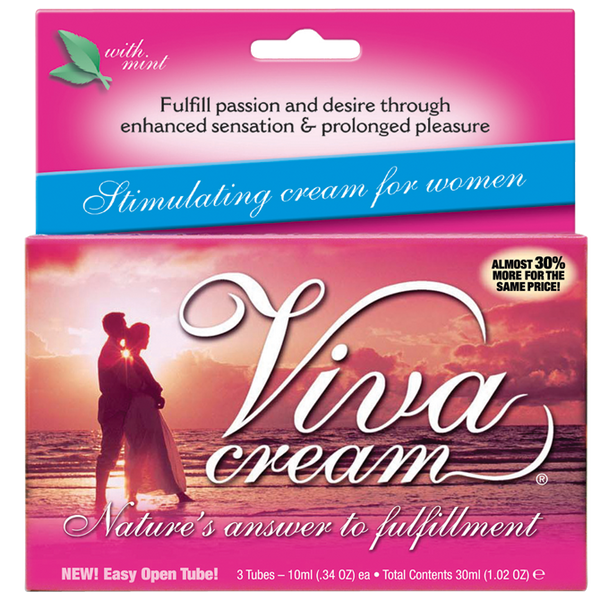 Viva Cream®... Finally a product created for women—by women.