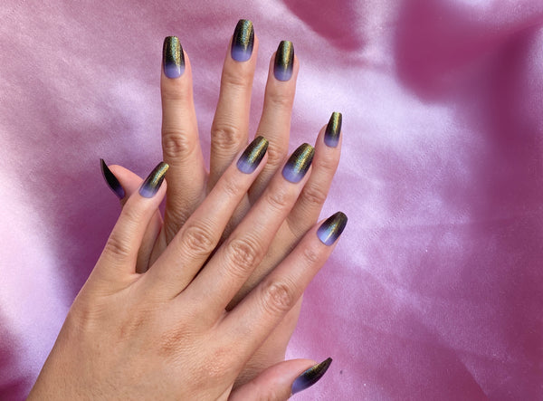6 Ombre Nail Designs Anyone Can Do at Home