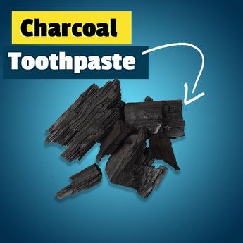 100% All Natural, Organic, Vegan - Activated Charcoal Teeth Whitener Toothpaste