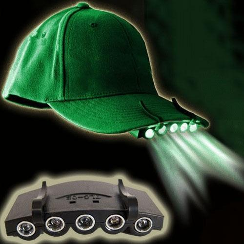 5 LED OUTDOOR CAP