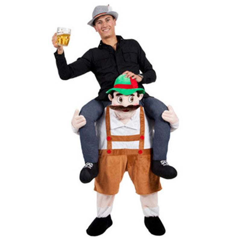 Drunken Bavarians Piggy Back Costume