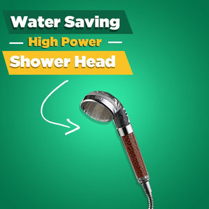 High-Pressure Water-Saving Showerhead