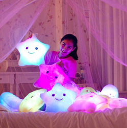 Luminous Juguetes Star Glowing Pillow