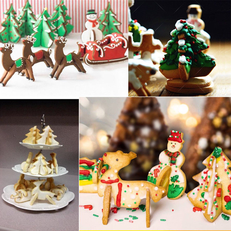 Christmas Cookie Cutters (8 Pcs)