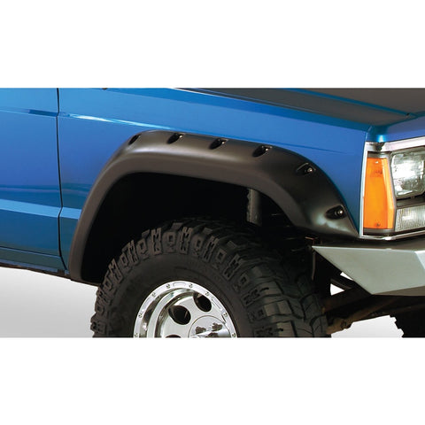 1984-2001 Jeep Cherokee XJ Cut-Out Style Fender Flare 2 Doors- Front/Rear Kit
