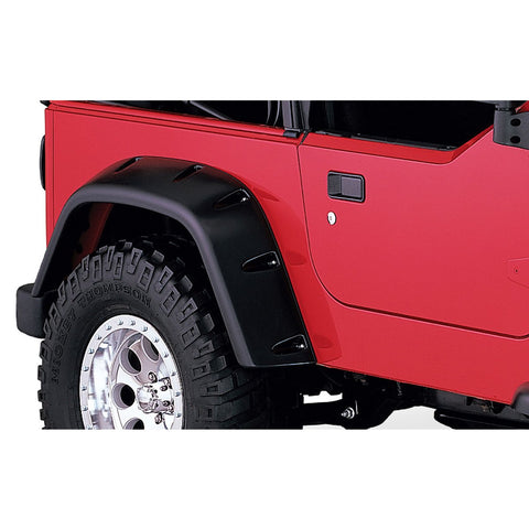 1997-2006 Jeep Wrangler TJ Pocket Style Fender Flare - Front/Rear Kit