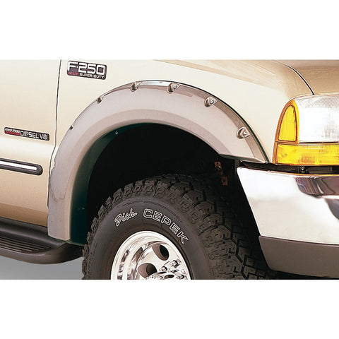 1999-2007 Ford F250 F350 Pocket Style Fender Flare - Front/Rear Kit