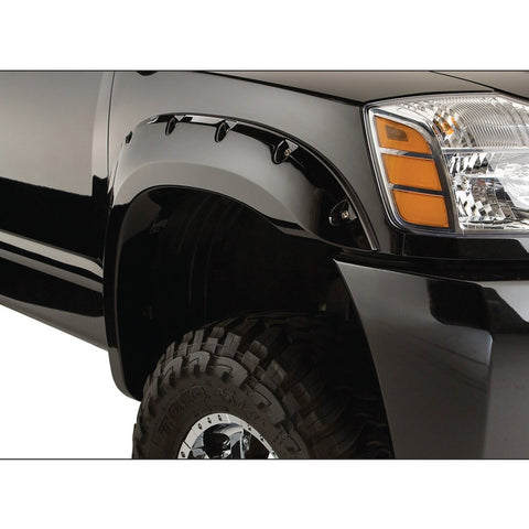 2004-2012 Nissan Titan Pocket Style Fender Flare with Bedside Lock Box- Front/Rear Kit