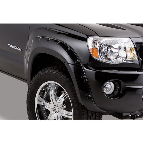 2005-2011 Toyota Tacoma Pocket Style Fender Flare - Front/Rear Kit