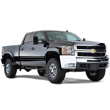 2007-2013 Chevy Silverado 1500 Pocket Style Fender Flare - Front/Rear Kit