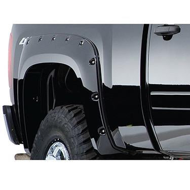 2007-2013 Chevy Silverado 2500 3500 Pocket Style Fender Flare - Front/Rear Kit