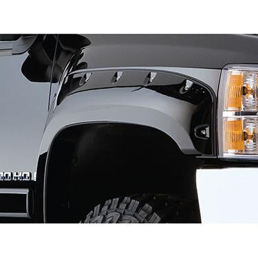 2007-2013 GMC Sierra 2500 3500 Pocket Style Fender Flare - Front/Rear Kit