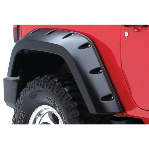 2007-2016 Jeep Wrangler JK Max-Coverage Style Fender Flare - Rear