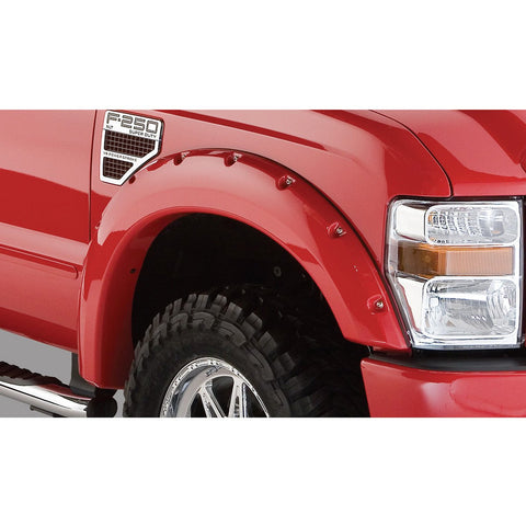 2008-2010 Ford F250 F350 Pocket Style Fender Flare - Front/Rear Kit
