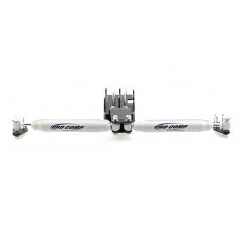 2008*-2012 Dodge Ram 2500 3500 4WD ProComp Dual Inverted Y-Style Steering Stabilizer Kit