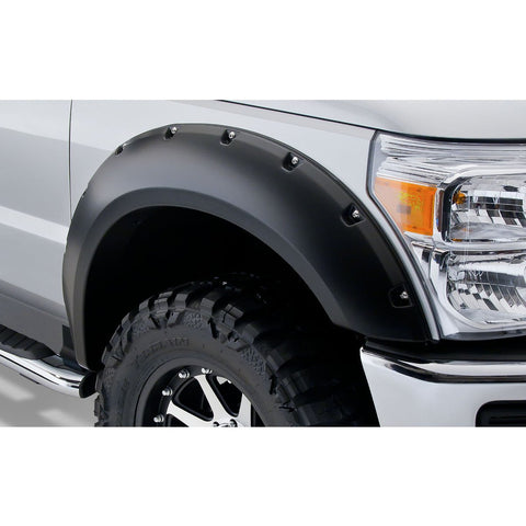 2011-2016 Ford F250 F350 Pocket Style Fender Flare - Front/Rear Kit