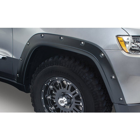 2011-2016 Jeep Grand Cherokee WK2 Pocket Style Fender Flare - Front/Rear Kit