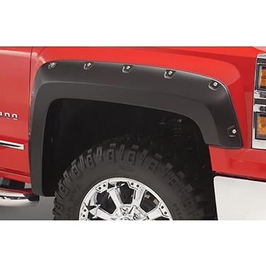 2014-2016 Chevy Silverado 1500 Pocket Style Fender Flare - Front/Rear Kit