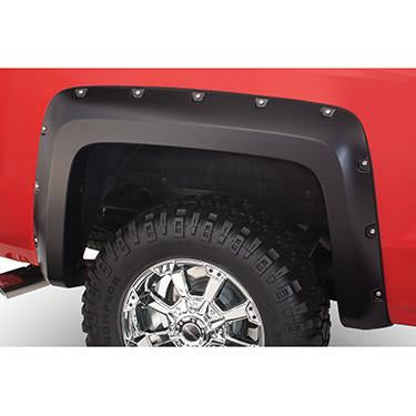 2014-2016 Chevy Silverado 2500 3500 Pocket Style Fender Flare - Front/Rear Kit