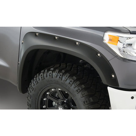 2016 Nissan Titan XD Pocket Style Fender Flare - Front/Rear Kit