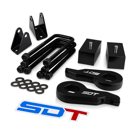 2000-2010 Chevy Silverado 2500HD 3500HD Full Leveling Lift Kit 2WD 4WD with Extender