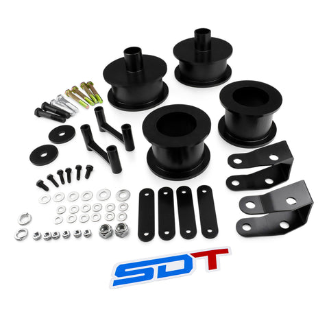 2007-2018 Jeep Wrangler JK Full Lift Leveling Kit with Shock Extenders