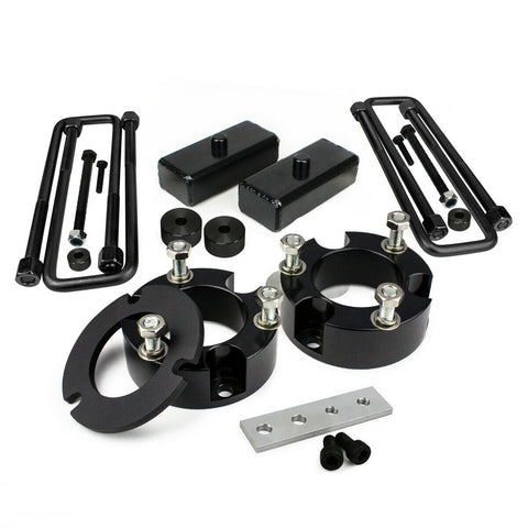1995-2004 Toyota Tacoma 2WD 4WD Full Lift Leveling Kit with Diff Drop with additional Lean Spacer