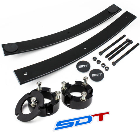 1995-2004 Toyota Tacoma Full Lift Leveling Add-A-Leaf Kit 2WD/4WD includes additional Lean Spacer