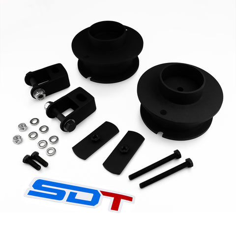 2014-2019 Dodge Ram 3500 Front Steel Lift Leveling Kit with Shock Extenders