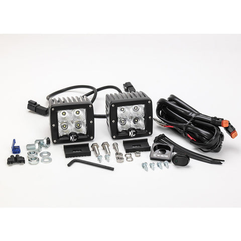 "C3 3"" Cube LED light Kit - Flood 12W"
